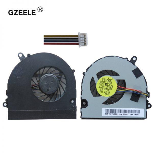 GZEELE LAPTOP CPU cooling fan for Asus U41 U41J U41JF U41SV Series laptop cpu fan DFS531005PL0T 4PINS KSB06105HB -AK78 4 wires