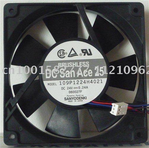 Original Sanyo 109P1224H4021 24V 0.24A 120*120*25MM 12cm cooling fan