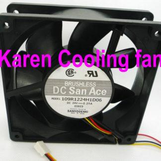 SANYO 12CM 109R1224H102 109R1224H1D06 109R1224H1011 12038 24V 0.25A cooling fan