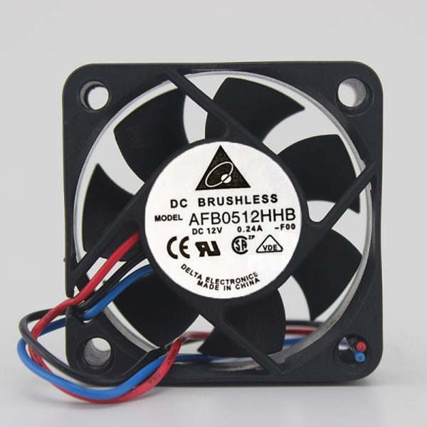 5015 cooling fan 12V0.24A double ball high speed inverter fan AFB0512HHB