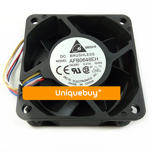6CM 48V fan AFB0648EH Adjust speed 0.21A for Delta PWM Cooling fan 6025