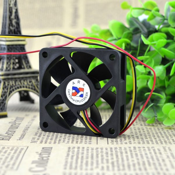 Free Delivery. FD1260 A1033C 6015-12 v 0.19 a 6 cm/cm CPU machine box power supply fan