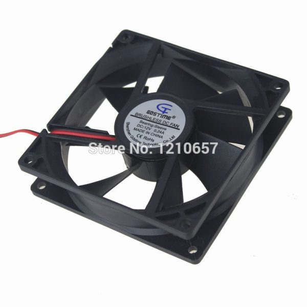 10 Pieces LOT Gdstime 9225S 92mm 92x25mm DC 12V 2P Axial Cooling Fan