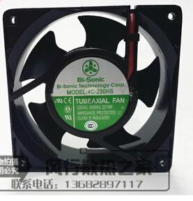 Bi-Sonic 4C-230HS 12038 AC fan oil bearing cabinet fan