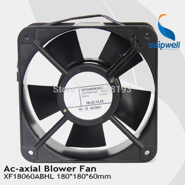180*180*60mm AC Axial Flow Fan/ 220V 0.4A Ball Bearing Industrial Axial Fan (XF18060ABHL)