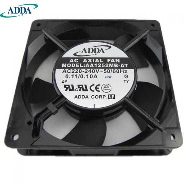 ADDA New and original inverter fan AA1252MB-AT 220V 0.10A 18.4W 44.1DBA control cabinet dedicated axial 120*120*25mm