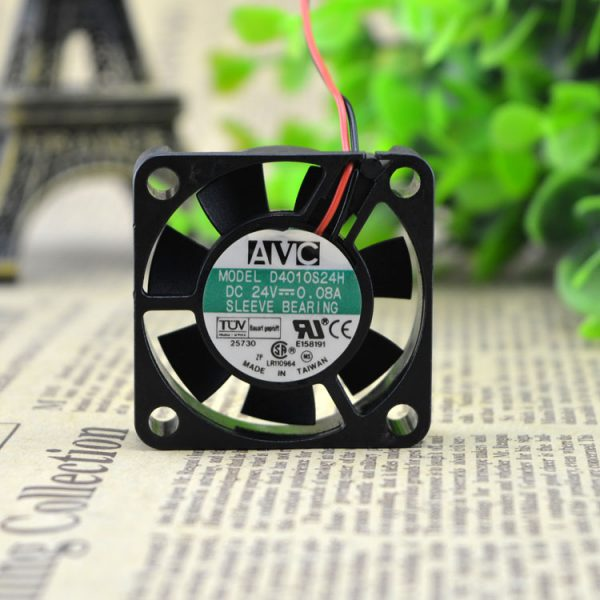 New original 4010 24V 0.08A silent fan 4CM power supply cooling fan D4010S24H