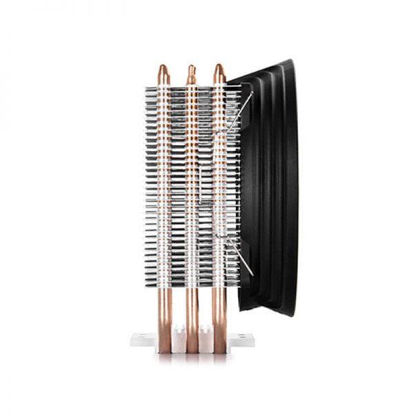3 Heatpipe CPU Fan Cooler 120mm 4Pin LED CPU Cooling Fan High Air Flow Aluminum Heat Sink Radiator For Inter AMD PC Computer