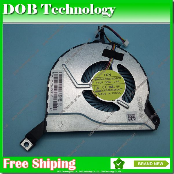 Original New CPU Cooler Fan For HP 15-p227tx 15-p000 15-P029nr 14-v062us 14-v049TX 14-V000 14-V100 17-F000 17-F100 767776-001