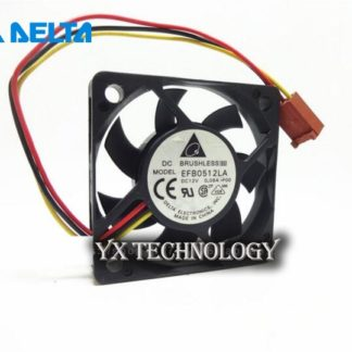 Free shipping original Delta Cooling fan For EFB0512LA F00 DC 12V 0.08A, 3 wire 3 pin 80mm 50x50x10mm