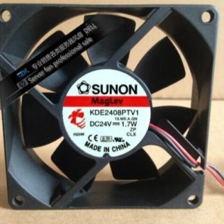 Original Authentic Sunon KDE2408PTV1 DC 24V 1.7W 80*80*25 8CM 2-wire Inverter Cooling Fan