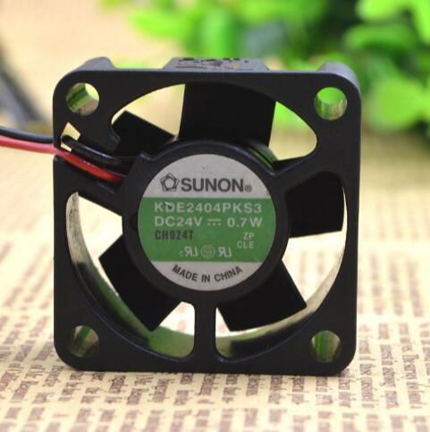 Original SUNON KDE2404PKS3 40*40*20 4cm DC 24V 0.7W cooling fan