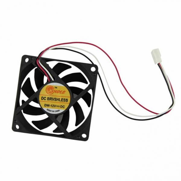 2018 New Computer Case Cooler 12V 7CM 70MM Fan 3pin PC CPU Cooling Cooler Fan Black Heat Sink Small Cooling Fan PC wholesale