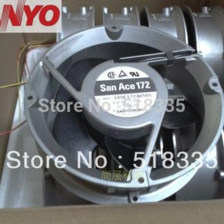 Sanyo 17251 109E1724K501 DC 24V 1.3A server inverter converter cooling fan