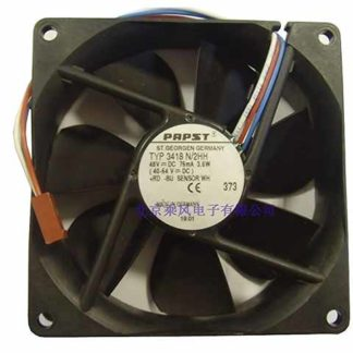 ebm papst ebm-papst TYP 3418 N/2HH, TYP3418N/2HH 48V 3.6W, 90x90x25mm Connector Server Square fan