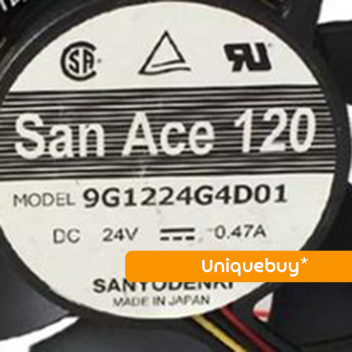 9G1224G4D01 DC24V 0.47A For Sanyo 120*120*25mm axial fan