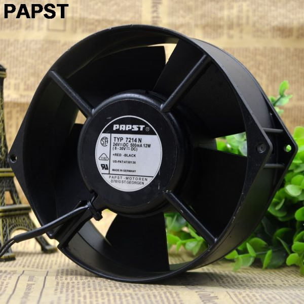 PAPST New original Blowers 7214N 15055 24V 12W wind capacity axial fan
