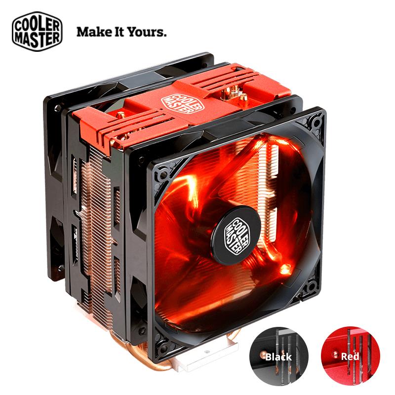 Cooler Master T400 Pro Computer CPU Cooler Dual 120mm fans LGA 2011 1150  1151 AMD AM4 Quiet Desktop PC CPU cooling radiator fan