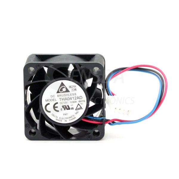 Delta THA0412AD 40mm 4cm DC12V 0.60A inverter server axial case Cooling Fans