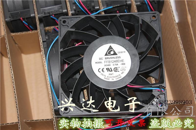 New genuine FFB1248EHE 12038 48V 0 75A inverter cooling fan