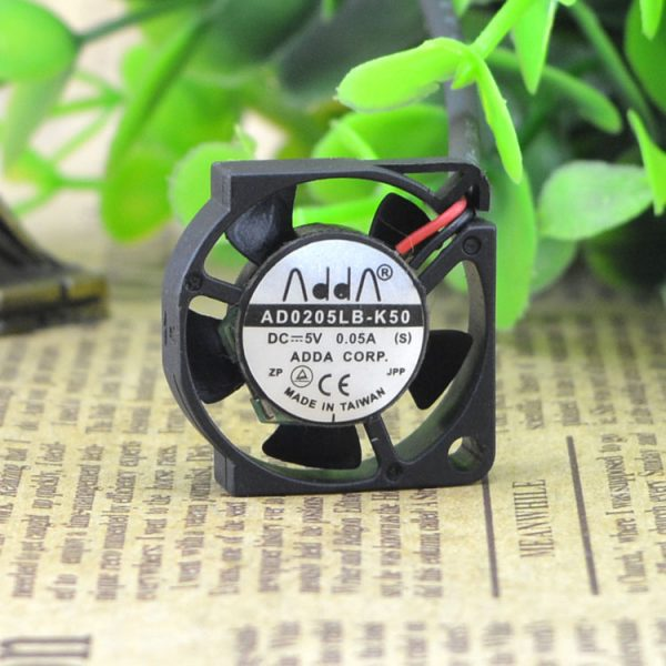 ADDA 2.5CM 2506 5V0.05A AD0205LB-K50 mini notebook cooling fan