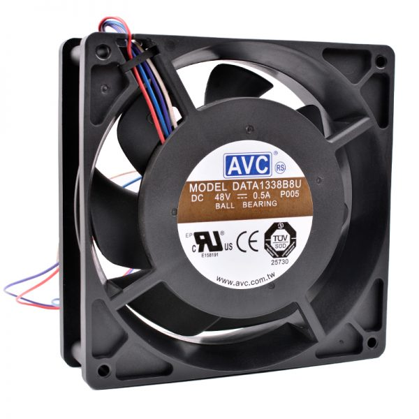 AVC DATA1338B8U DC 48V 0.50A Brand new original high-end server cooling fan