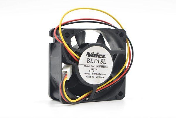New Original 24V 0.11A 6CM D06T-24TU 61BH10 6025 Inverter Cooling Fan