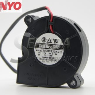 Sanyo 109BC12GA7 -2 5015 12V 0.19A 5cm 50mm turbo centrifugal cooling fan Blower