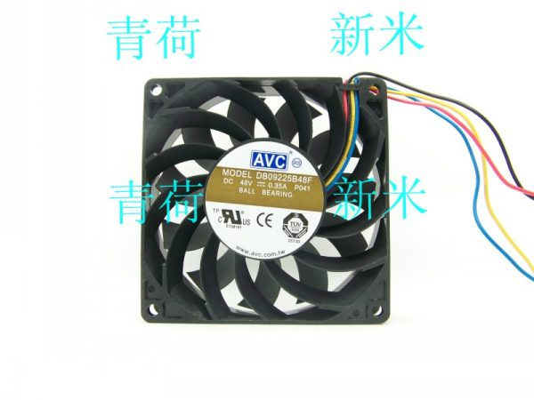 AVC 9CM DB09225B48F 9225 48v 0.35a Cooling fan
