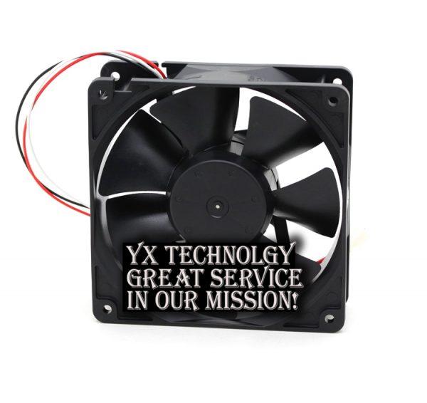 New 12038 24V 0.46A 4715KL-05W-B49 speed inverter cooling fan for NMB 120*120*38mm