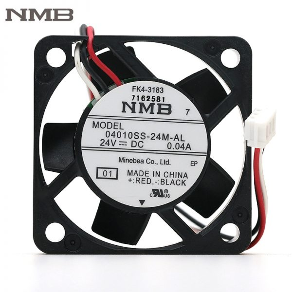 Original NMB 04010SS-24M-AL 4010 24V 0.04A 40mm 40*40*10mm silent quiet axial mini cooling fan