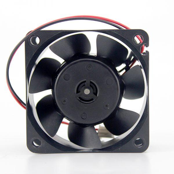 Original NIDEC D06T-24TU 6cm 60*60*25mm DC 12V 0.11A 2 line speed cooling for printer invert fan