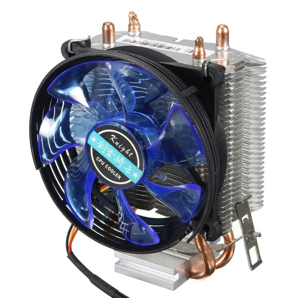 95x95x25mm LED Cooler Cpu Fan Heatsink Copper for Intel LGA775/1156/1155 for AMD AM2/AM2+/AM3