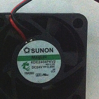 Genuine original SUNON KDE2404PKV2 24V 0.8W 40x40x20mm DC fan
