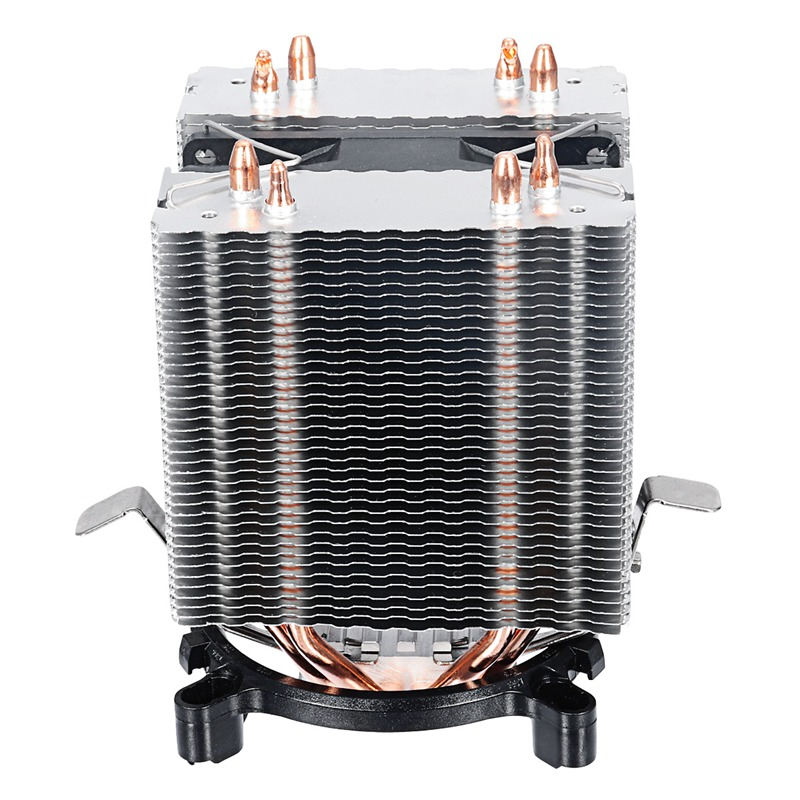 Aluminum LED CPU Cooler Fan Heatsink Radiator For Intel  LAG1156/1155/1150/775 For AMD New Computer cooler Cooling Fan For CPU