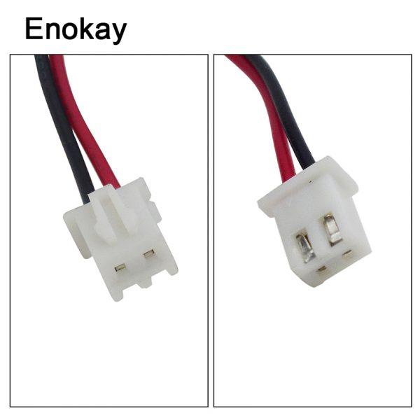 Promotion New Fan Controller Computer Enokay 10PCS LOT 6015 60mm 60x60x15mm 6cm DC 12V 2Pin Cooler Axial Exhaust Fan