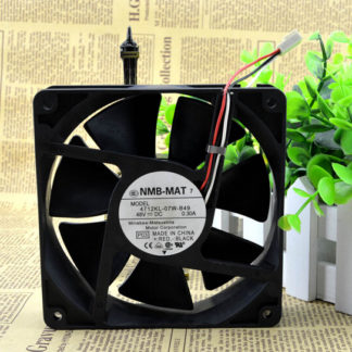 Original authentic NMB-MAT4712KL-07W-B49 120*120*32 48V 3 wire converter cooling fan