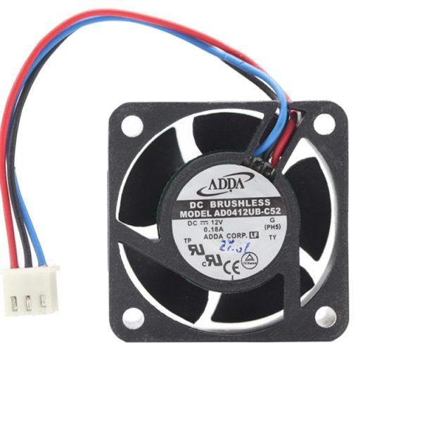 Original ADDA AD0412UB-C52 4020 DC 12V 0.18A 4CM 3-lines axial case cooling cooler fan
