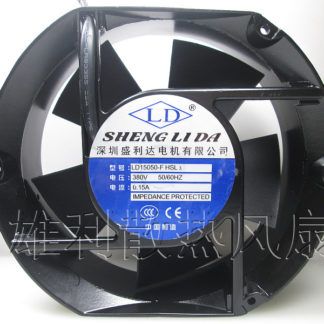 Free Delivery. Genuine genuine LD15050-F HSL3 380V 0.15A 17251 17 cm exhaust fan