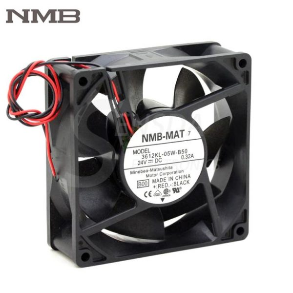 Original NMB 3612KL-05W-B50 9032 9CM 90mm DC 24V 0.32A server inverter axial cooling fan cooler