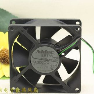 Original Nidec TA300DC L35011-57 DC 12V 0.17A 80*80*25 3 Lines Inverter Cooling Fan
