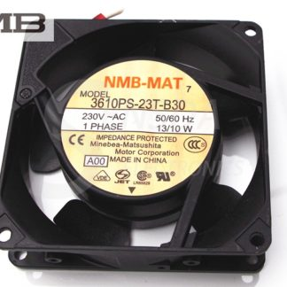 NMB 3610PS-23T-B30 9025 90mm 9cm aluminum frame fan 9CM AC fan 230V 13/10W server inverter blowers