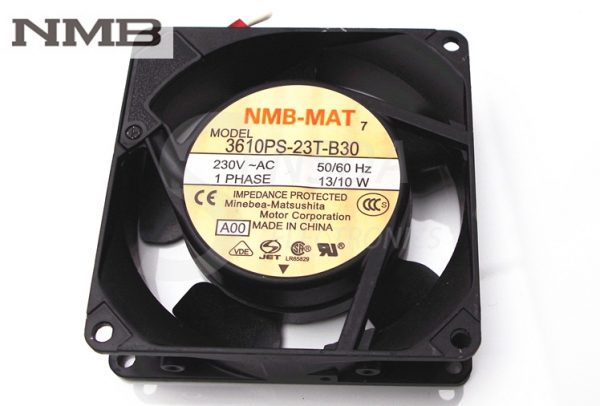 NMB 3610PS-23T-B30 9025 90mm 9cm aluminum frame fan 9CM AC fan 230V 13/10W server inverter blowers