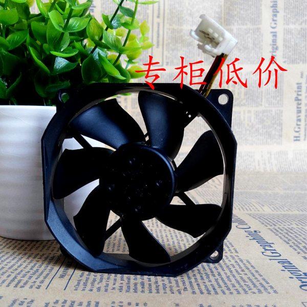 Original NMB 3110RL-04W-S19 12VDC 0.10A three-wire 80 * 80 * 25MM axial fan