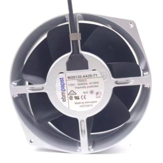 ebm-papst W2S130-AA25-71 Server Round Fan AC 115V 41/38W 50/60Hz 172x150x55mm 2-wire