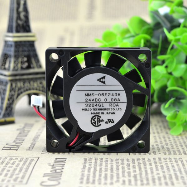 Free Delivery. 6 cm 6015 inverter MMS - 06 e24dh 24 v 0.08 A mute A cooling fan