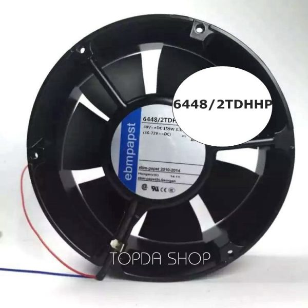 ebmpapst 6448/2TDHHP  Equipment fan DC48V 159W 3.3A 172x51mm