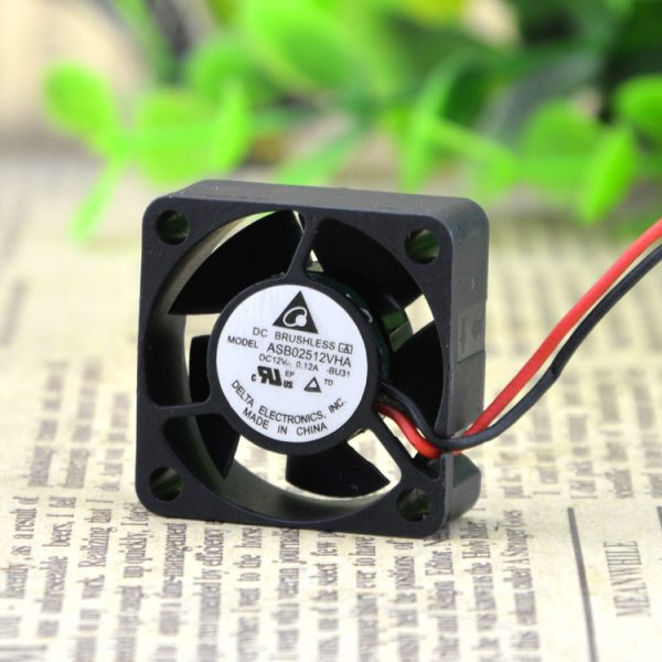New original Ultra-quiet 12V 0.12A cooling fan ASB02512VHA 2510