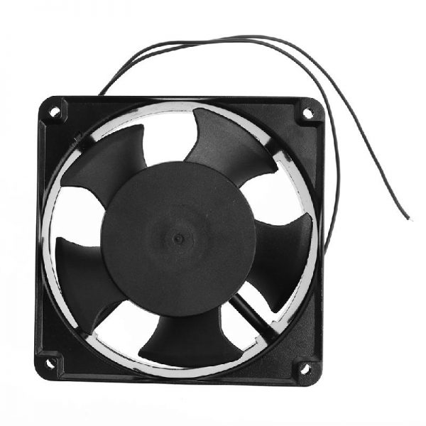 120*120*38mm Sleeve Bearing ABS/Metal 220-240V AC 2-Wire Cooling Fan Cooler Radiator, Cooler AC Cooling Fan For Computer