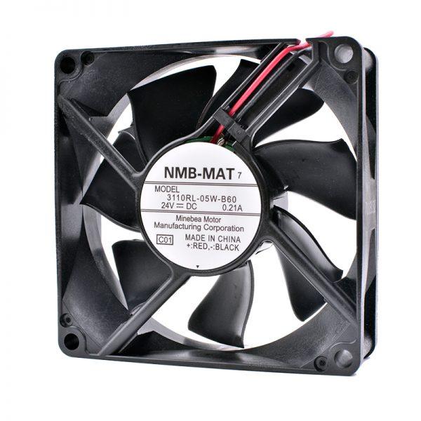 COOLING REVOLUTION 3110RL-05W-B60 8cm 8025 24V 0.21A inverter fan printer cooling fan